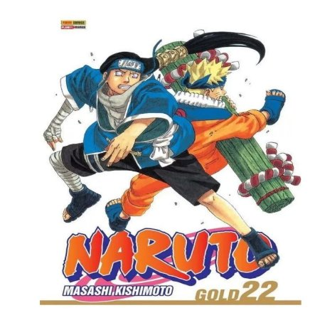 Mangá Naruto Gold - Volume 22