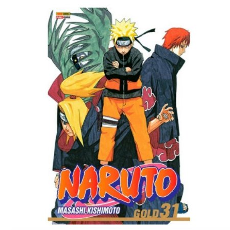 Mangá Naruto Gold - Volume 31