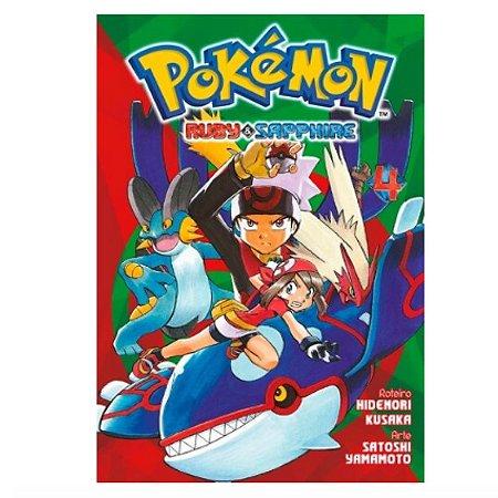 Mangá Pokémon Ruby & Sapphire - Volume 4