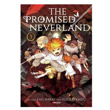 Mangá The Promised Neverland - Volume 3