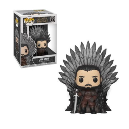 Pop Funko: Game of Thrones- Jon Snow no Trono de Ferro