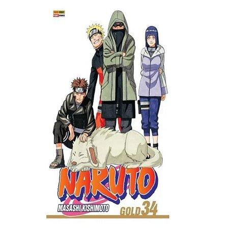Naruto Gold - Edição 34