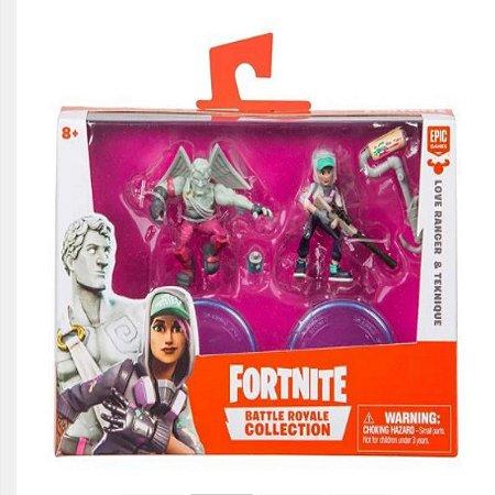 Fortnite Mini Figuras Love Ranger e Tecknique