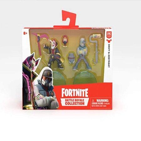 Fortnite Mini Figuras Drift e Abstrakt
