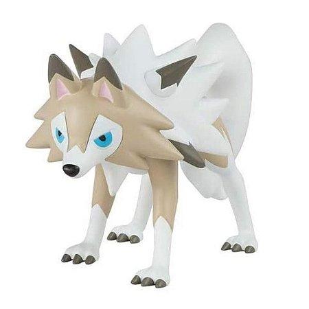 Pokémon - 1 mini figura  - Articulada - Lycanroc (Forma diurna)
