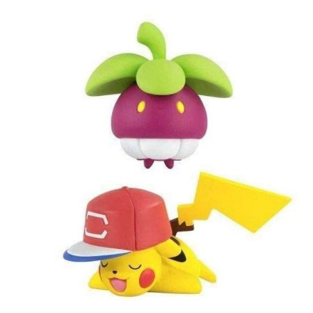 Pokémon - 2 mini figuras - Bounsweet e Pikachu