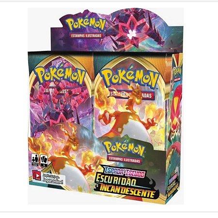 Box Display Pokémon Espada e Escudo - Escuridão Incadescente