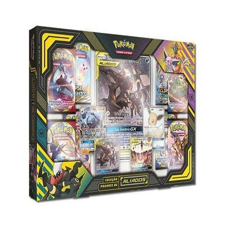 Box Pokémon Coleção Poderes de Aliados Umbreon e Darkai Gx