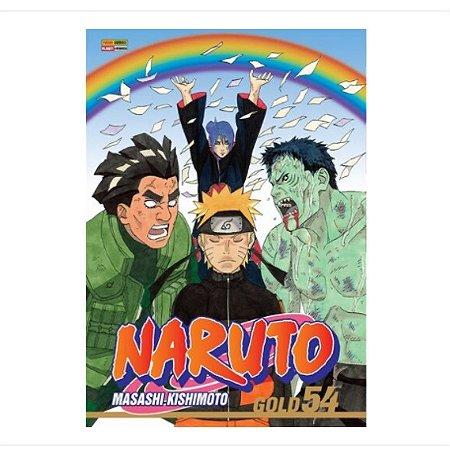 Mangá Naruto Gold - Volume 54