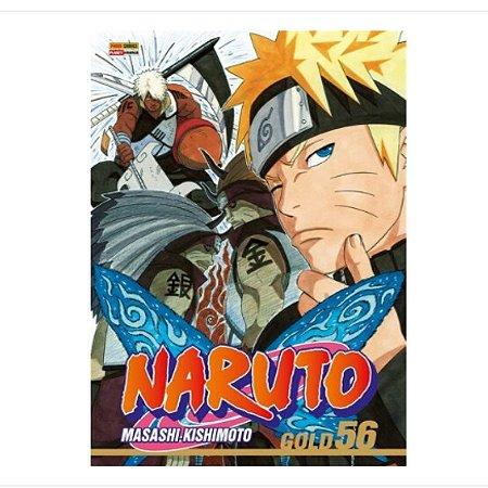 Mangá Naruto Gold - Volume 56