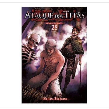 Ataque dos Titãs - Volume 28