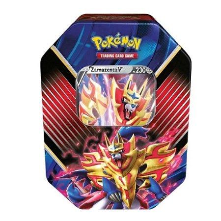 Lata Pokémon Zamazenta V Lendas De Galar