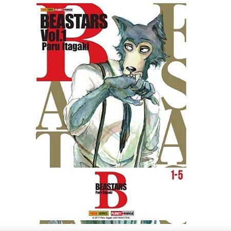 Box Beastars - Edições do 1 ao 5
