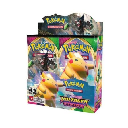 Box Display Pokemon Espada e Escudo Voltagem Vívida Ed.04