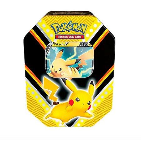 Pokémon Lata Poderes V - Pikachu V