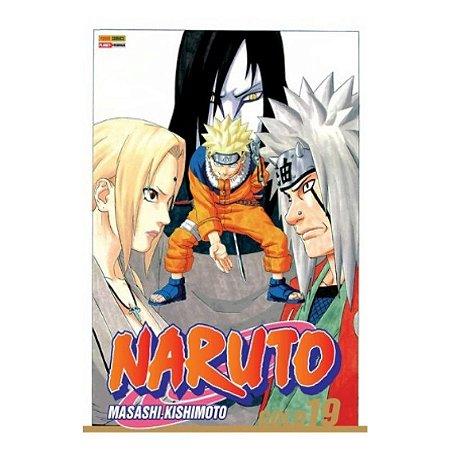 Mangá Naruto Gold - 19