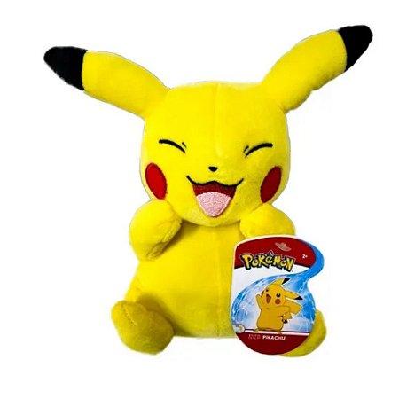 """Pokémon Pikachu 8"""" - Pelúcia colecionável -2609"""