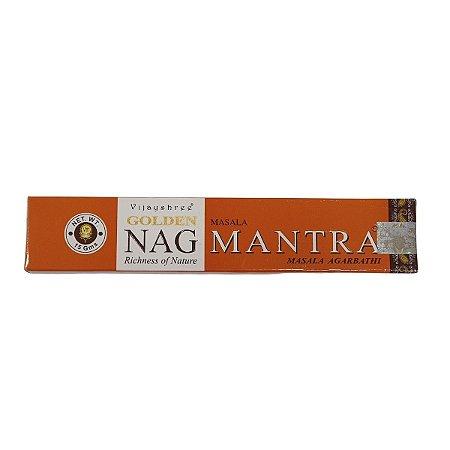 Incenso Masala Golden Nag Mantra