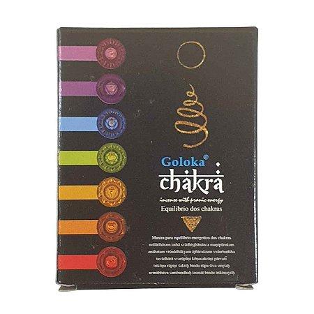 Incenso Cone Goloka Chakra