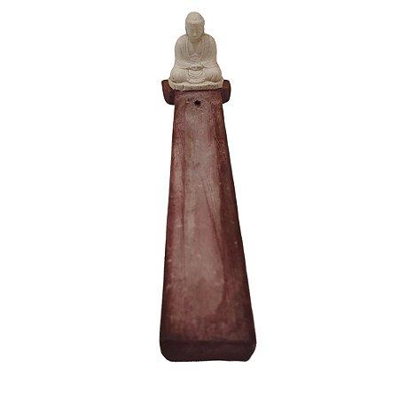 Incensário Vareta de Madeira e Resina Monge 20cm