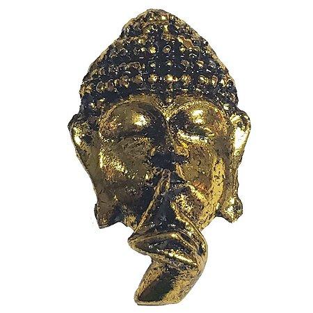 Imã Folha de Ouro Cabeça de Buda