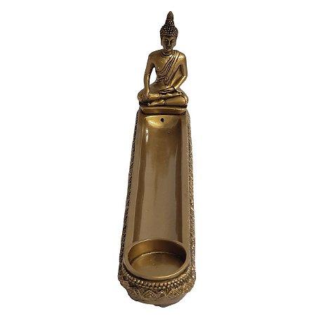 Incensário de Resina Buda Sidarta