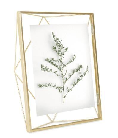 Porta Retrato Umbra Prisma Dourado - 20x25cm
