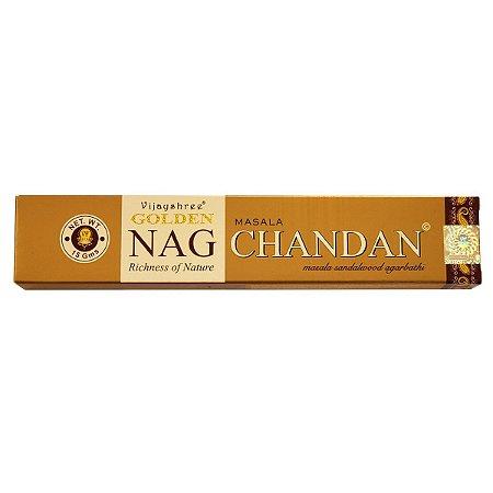 Incenso Masala Golden Nag Chandan
