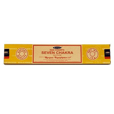 Incenso Satya Sete Chakras