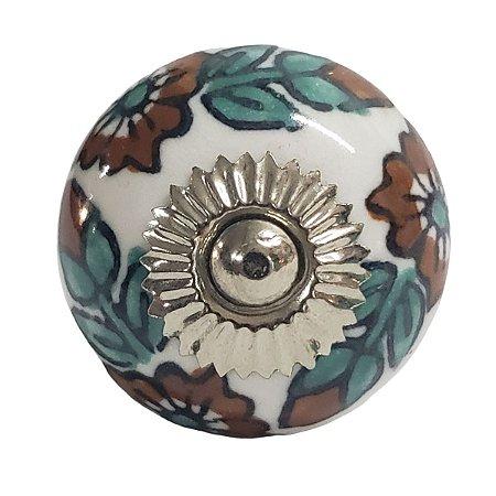 Puxador Cerâmica Indiano Modelo 2