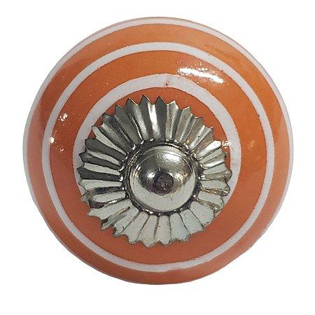 Puxador Cerâmica Indiano Modelo 3