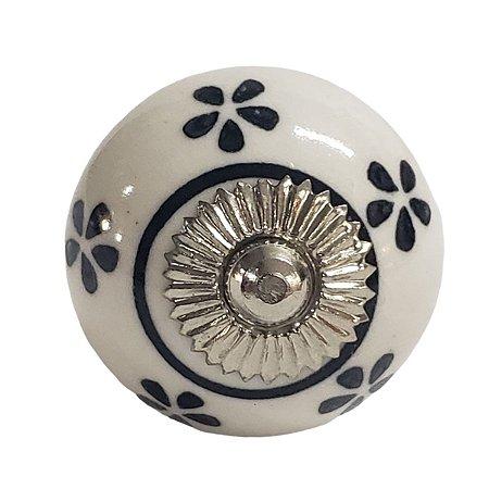 Puxador Cerâmica Indiano Modelo 4
