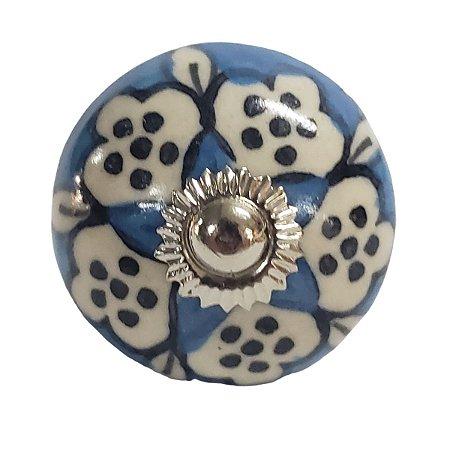 Puxador Cerâmica Indiano Modelo 8