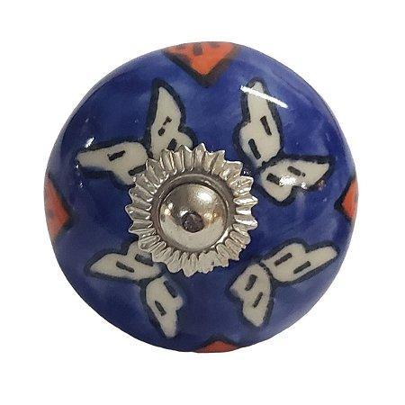 Puxador Cerâmica Indiano Modelo 33