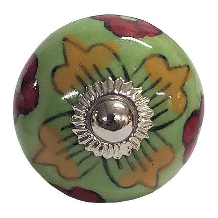 Puxador Cerâmica Indiano Modelo 40