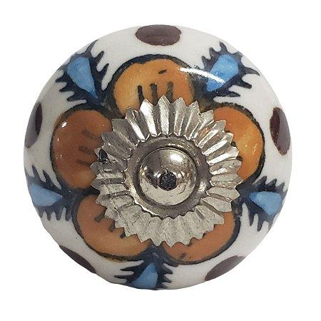 Puxador Cerâmica Indiano Modelo 30