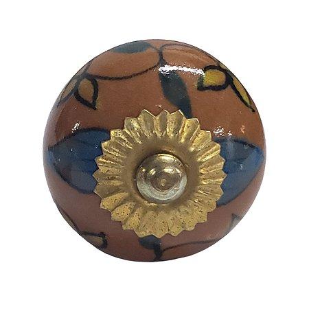 Puxador Cerâmica Indiano Modelo 27