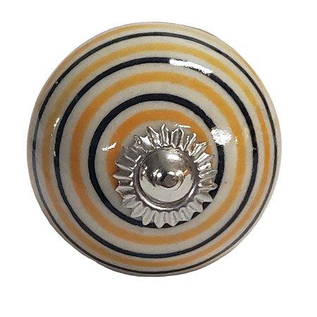 Puxador Cerâmica Indiano Modelo 26