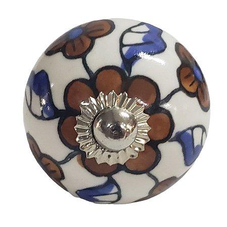 Puxador Cerâmica Indiano Modelo 19