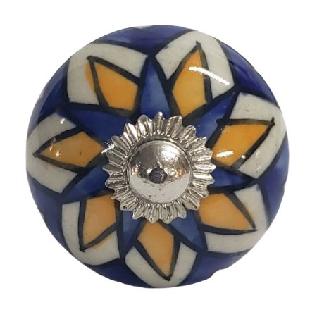 Puxador Cerâmica Indiano Modelo 14
