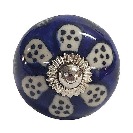 Puxador Cerâmica Indiano Modelo 10