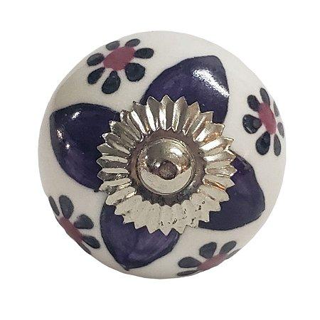 Puxador Cerâmica Indiano Modelo 9