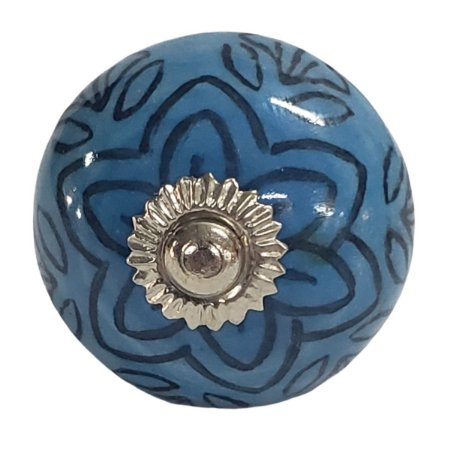 Puxador Cerâmica Indiano Modelo 42
