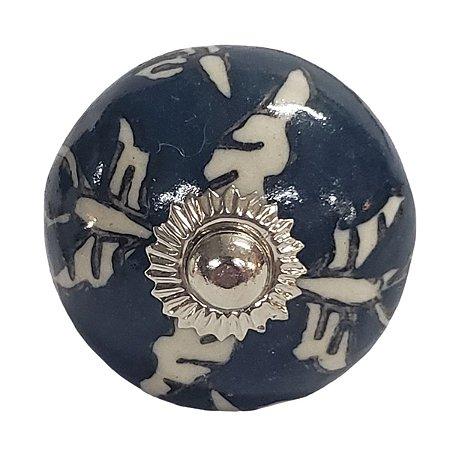 Puxador Cerâmica Indiano Modelo 46