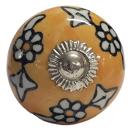 Puxador Cerâmica Indiano Modelo 57