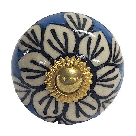 Puxador Cerâmica Indiano Modelo 59