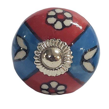 Puxador Cerâmica Indiano Modelo 62