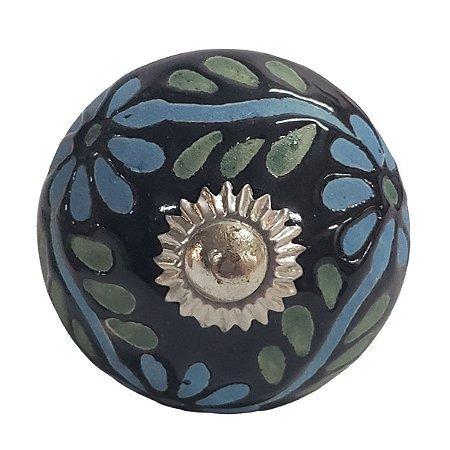 Puxador Cerâmica Indiano Modelo 73
