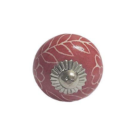 Puxador Cerâmica Indiano Pequeno (Modelo 8)