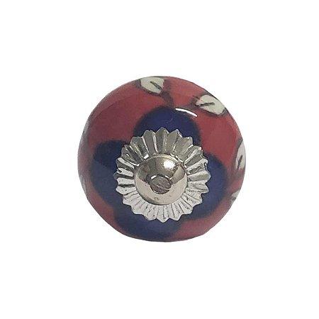 Puxador Cerâmica Indiano Pequeno (Modelo 16)
